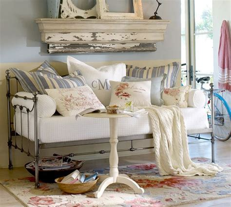 pottery barn shabby chic savannah daybed with trundle pottery barn sunroom pinterest pewter shabby chic and mattress