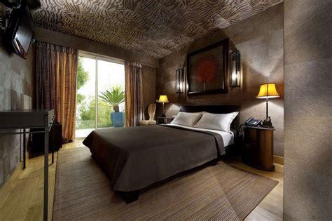 chambre relax couleur de chambre moderne le marron apporte le confort
