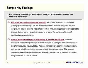 Managed Markets Market Research
