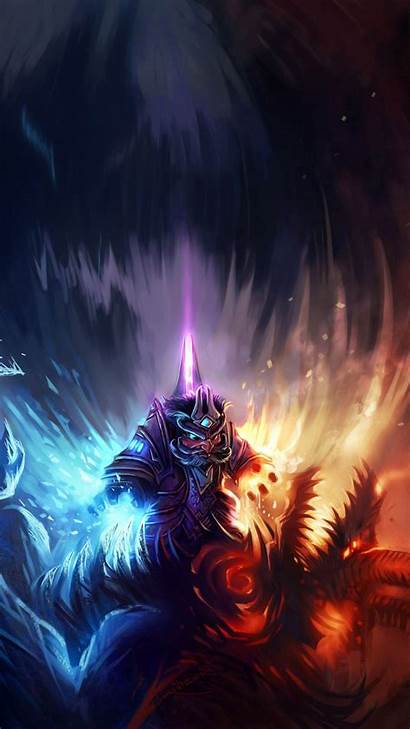 Phone Cell Warcraft Wallpapers Mobile Mage Wow