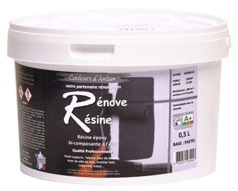 résine colorée blanc pour rénover résine colorée multisupport renove resine 0 5l idéale