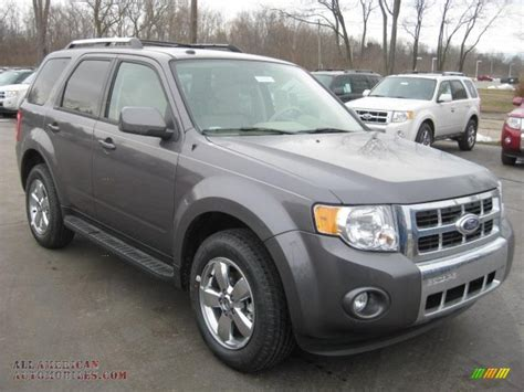 ford escape grey 2011 ford escape limited in sterling grey metallic