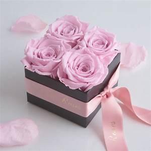 Ewige Rosen Box : infinity rosenbox eckig schwarz konservierte rosen ~ Eleganceandgraceweddings.com Haus und Dekorationen