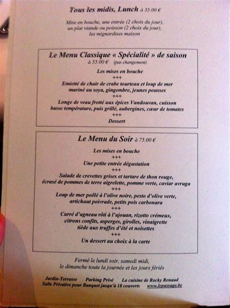 le passage restaurant 224 uccle par rocky renaud
