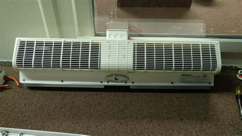 mars air curtain specifications mars air curtain for walk in door commercial cooling