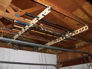 ceiling mounted rod racks
