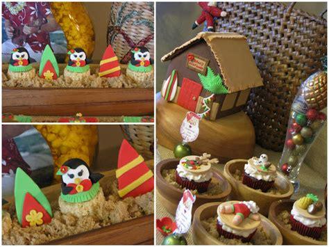 hawaiian designer christmas ornaments kara s ideas mele kalikimaka birthday