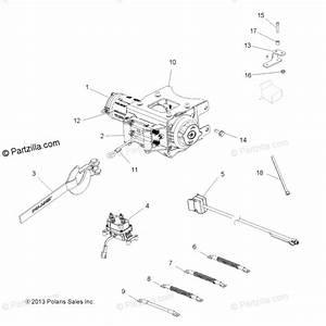 Polaris Atv 2014 Oem Parts Diagram For Options  Winch