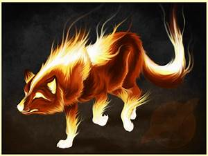 Fire Wolf Design by shorty-antics-27 on DeviantArt