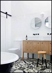 univers contemporain scandinave naturel chic salle de bain With salle de bain style scandinave