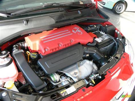 Fiat 500 Abarth Engine by 2012 Fiat 500 Abarth 1 4 Liter Turbocharged Sohc 16 Valve