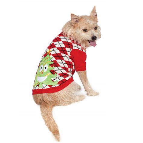Ugly Christmas Dog Sweater - Happy Tree | BaxterBoo
