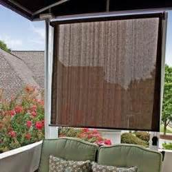 porch roll up blind shade window outdoor patio sun bamboo