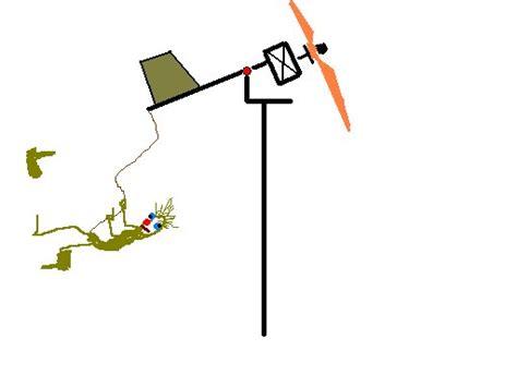 Устройство регулирования шага лопастей ветрогенератора