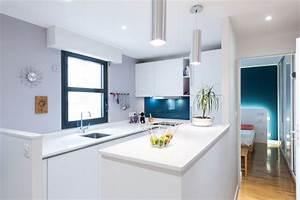 agencement d39une cuisine d39angle design moderne finition With agencement d une cuisine