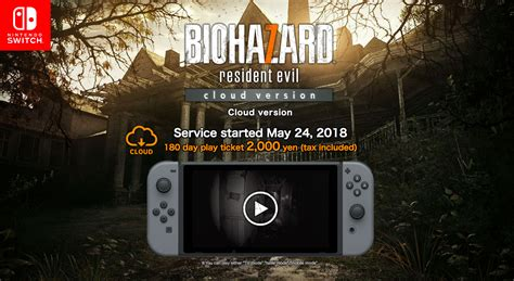 Resident Evil For Switch Resident Evil 7 Biohazard Coming To Nintendo Switch In