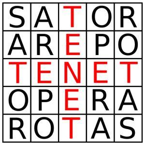 T e n e t. Sator Arepo Tenet Opera Rotas Significato: un segreto ...