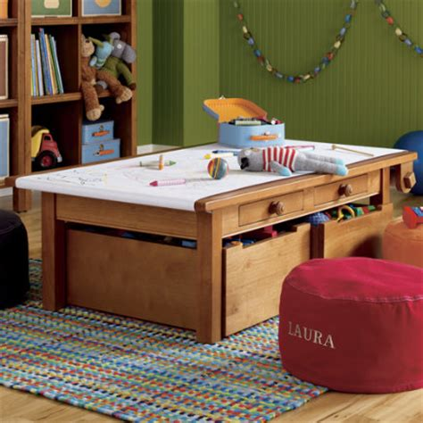 Toddler Desk With Storage by Play Table Room Decor
