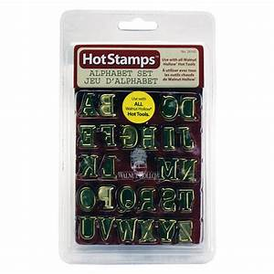 hot stamps alphabet set walnut hollow craft With large wood burning letter stamps