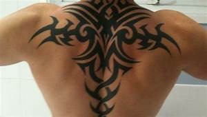 cool tribal tattoos for mens back wing - Tattoos Blog ...