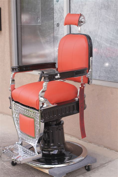 koch barber chair restoration project antique barber chairs welcome to custom barber