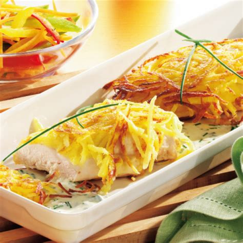 Hähnchenbrustfilet Unter Kartoffelknusperkruste (355