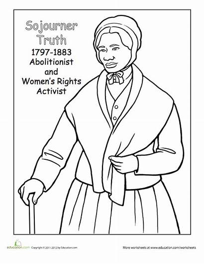 History Coloring Printable Sheets Power Month Celebrate