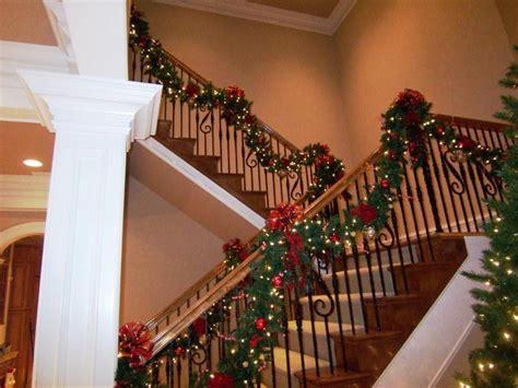 christmas stairs luxury christmas stairs decorating christmas decorations pinterest christmas stairs