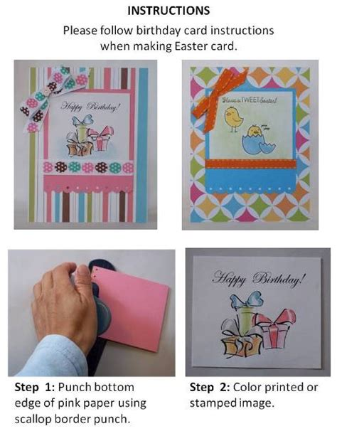 handmade birthday card idea   homemade card ideas