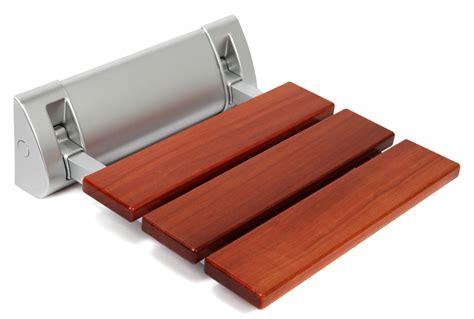 Kenley Wandmontage Holz Duschklappsitz Klappbar Duschsitz