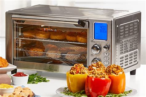 emeril lagasse 360 air power fryer airfryer complete oven accessories fry rotisserie cook pizza