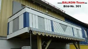 Diagonale Balkonverkleidung