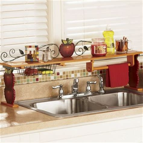 cheap sinks for kitchen scroll apple the sink shelf from ginny 39 s 62361