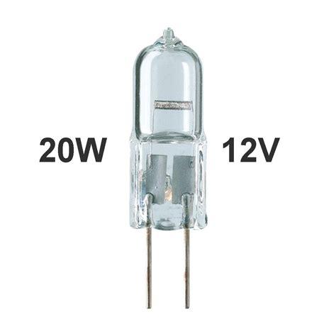 light bulb 12v 20w 1 00 20w halogen g4 bi pin bulb 12v low voltage