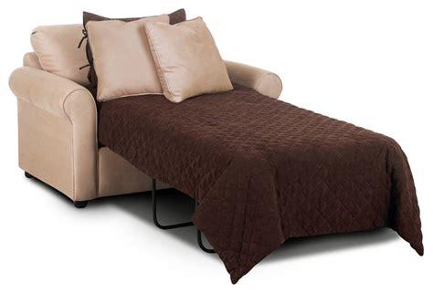 Ottawa Chair Sleeper Sofa, Microsuede Khaki