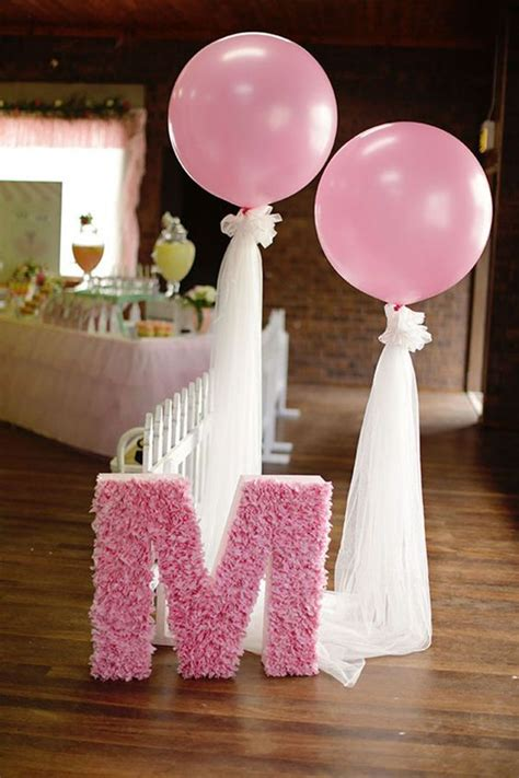 balloon decorations ideas for 36 cute balloon d 233 cor ideas for baby showers digsdigs