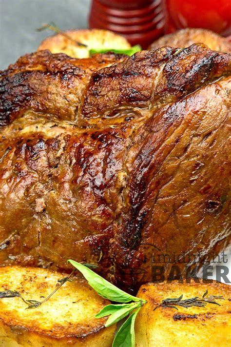 roast fryer beef air potatoes yummy