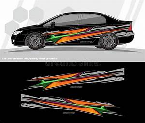 Car And Vehicles Wrap Decal Graphics Kit Designs. Ready To ...