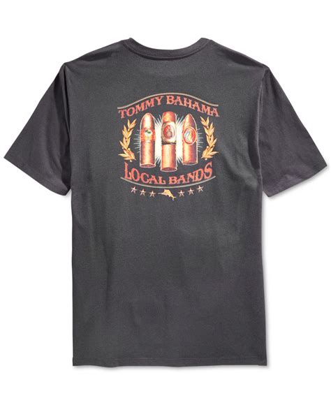 tommy bahama local bands graphic print t shirt in black
