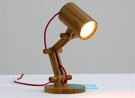 creative fashion design original wood table lamp