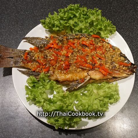 Authentic Thai Recipe For Fried Fish With Sweet Chili And