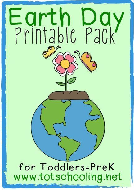 earth day pack  toddlers prek earth day earth