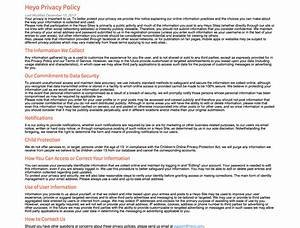 lovely privacy policy template contemporary example With generic privacy policy template