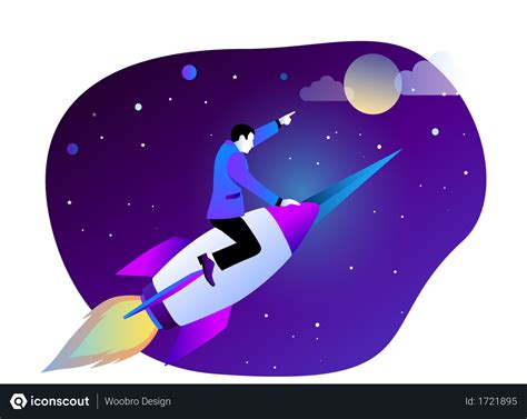 Free Startup Illustration download in PNG & Vector format