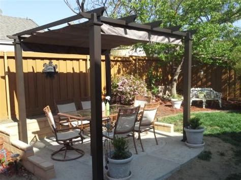 quot our new pergola it s sturdy and fits perfectly in