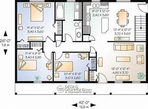 country style homes w1051 maison laprise With exemple de plan de maison