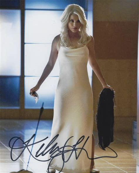 hu kelly autographed  photo rk sports promotions