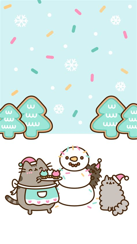 exclusive pusheen android  iphone christmas