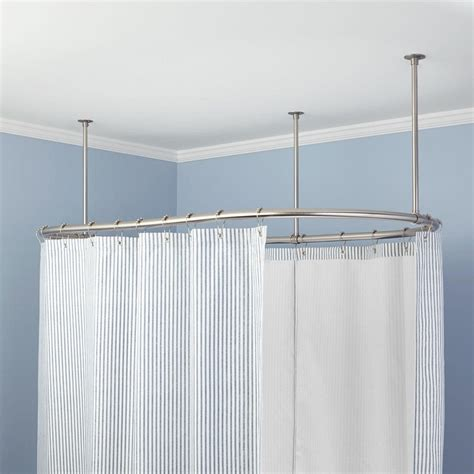hanging curtain rods how to hang shower curtain tension rod curtain