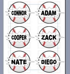 Free Printable Baseball Tags